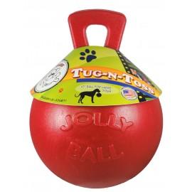 Jolly Ball Tug-n-Toss con asa