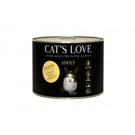 Cat's Love Adult Pollo...