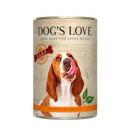 DOG'S LOVE BARF Pavo puro