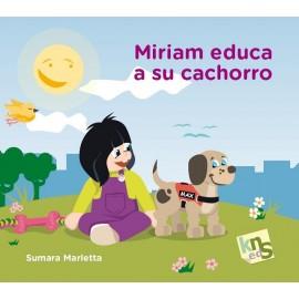 KNS Miriam educa a su cachorro